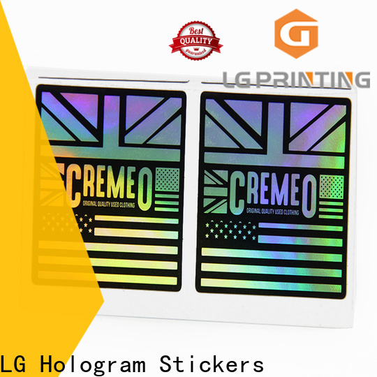 LG Printing holographic security stickers Suppliers