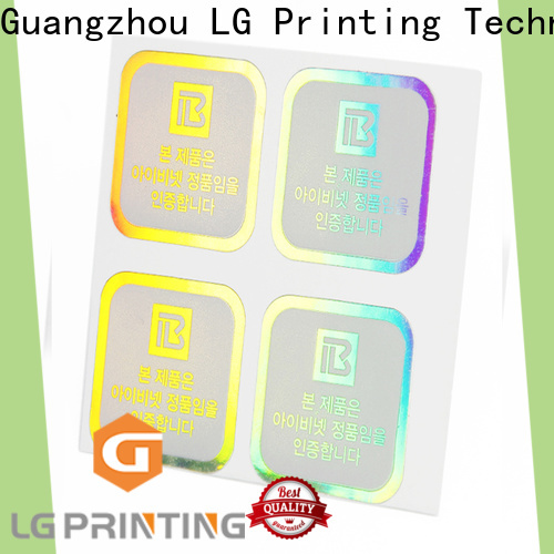 High-quality holographic letter stickers company