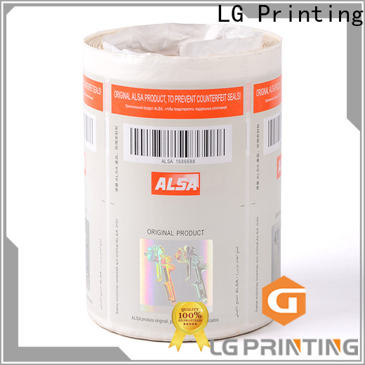 serial sticker security silver series for products