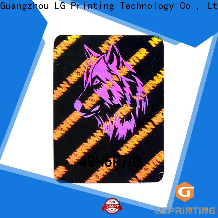 various void hologram sticker time manufacturer for box