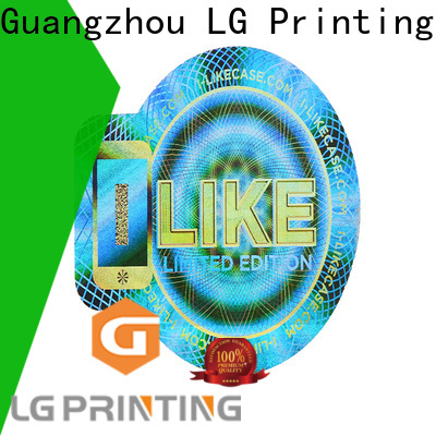 LG Printing time serial number sticker printing supplier for door