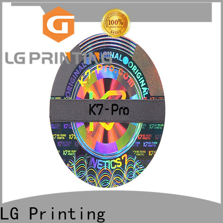 LG Printing colorful cusom serial number stickers label for box