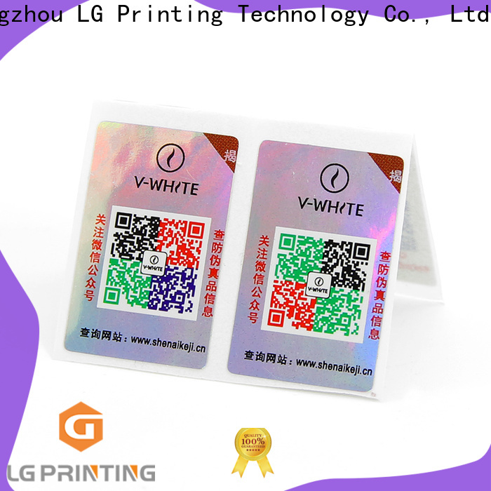 LG Printing High-quality waterproof labels for bottles printing company for goods