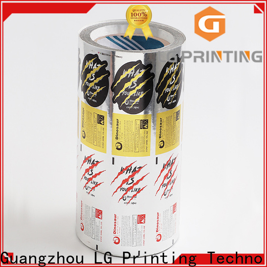 glossy wholesale bottle labels silver series for jars