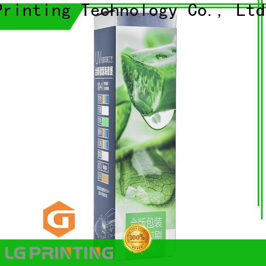 LG Printing Latest cosmetic box printing company