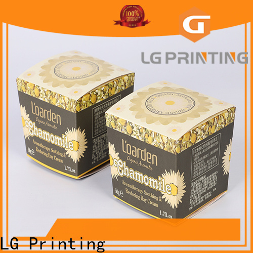 High-quality color box printing for business