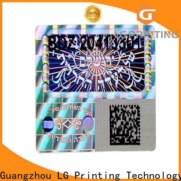 colorful stickers hologramme golden supplier for refrigerator