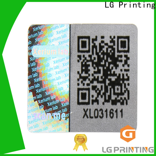 LG Printing gold holographic strips supplier for refrigerator