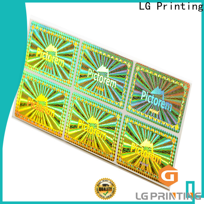 colorful wholesale sticker printing numbering manufacturer for table