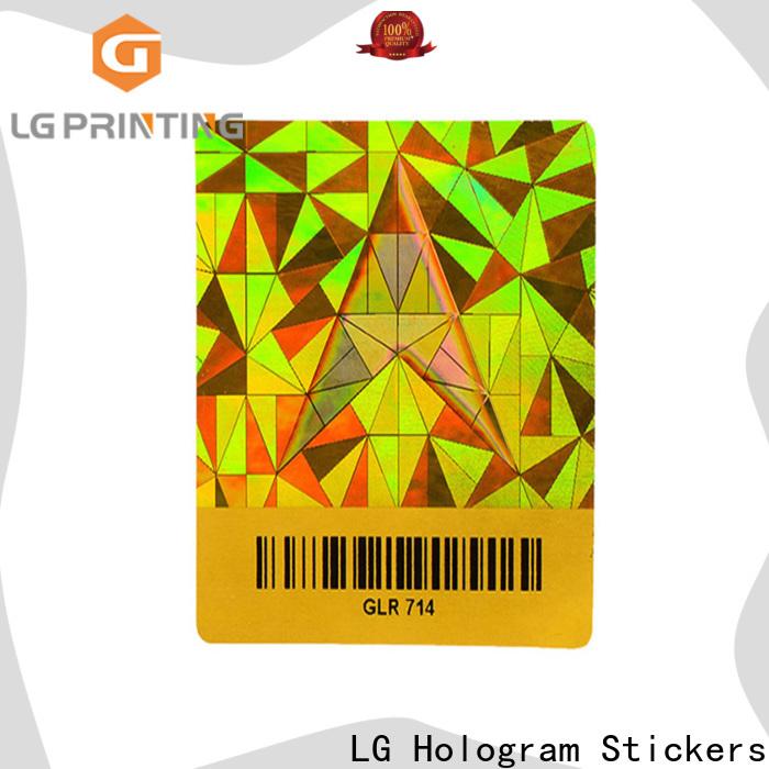 LG Printing various custom waterproof stickers series for door