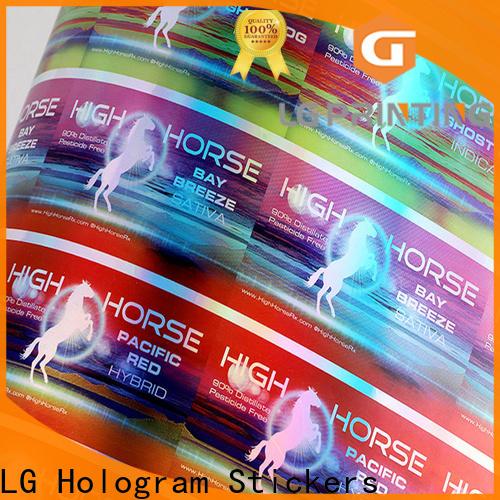 Best holographic vinyl sticker company