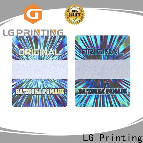 LG Printing one time vinyl sticker paper label for refrigerator