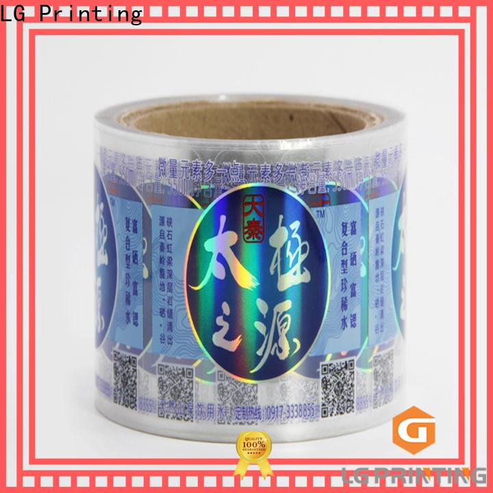 Custom holographic sticker sheet Supply
