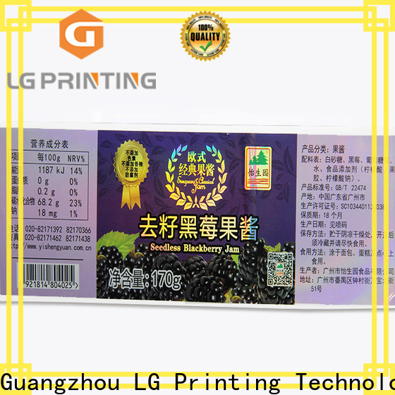 LG Printing holographic foil stickers manufacturers