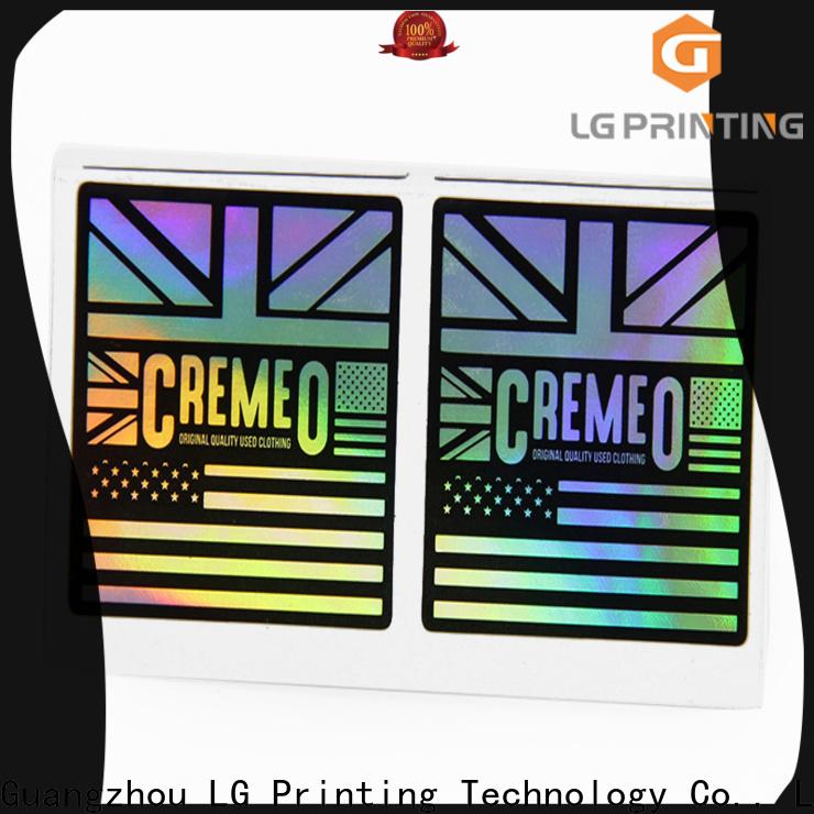 LG Printing Best holographic vinyl sticker Supply
