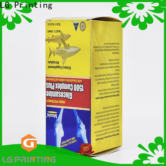 LG Printing cosmetic box printing company
