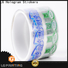transparent label printing companies pvc manufacturer for jars