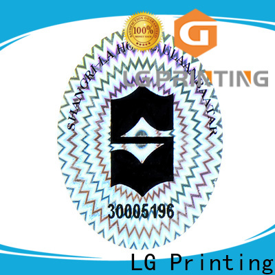 LG Printing quality adhesive paper stickers manufacturer for table