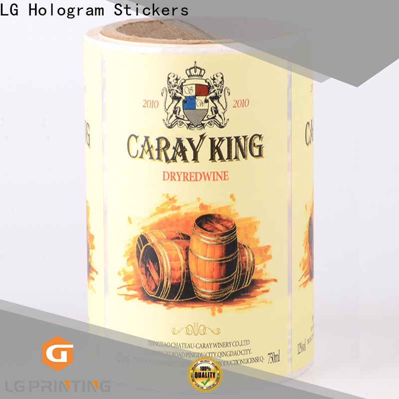 LG Printing red corrugated packaging supplier for jars