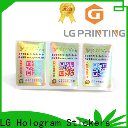 LG Printing New vinyl adhesive labels manufacturers for goods