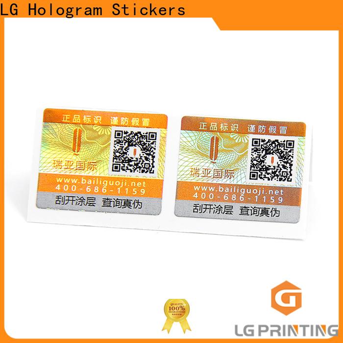 LG Printing hologram manufacturer for business for goods