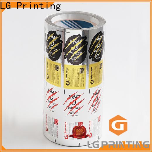 LG Printing foil blister pack series for bottle