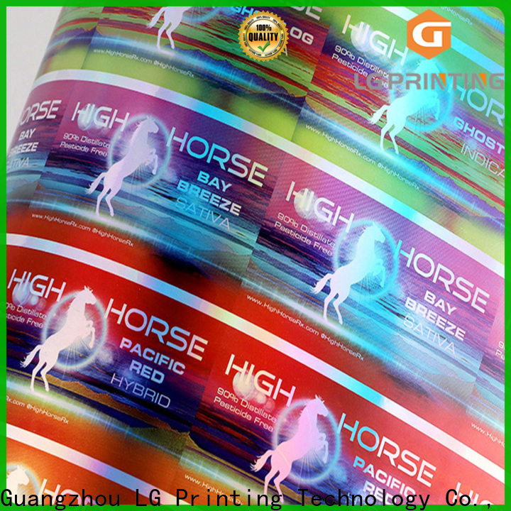 Wholesale custom holographic decals Supply