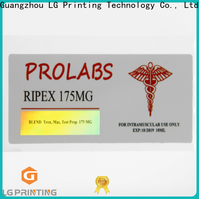 LG Printing Latest holographic label printing Suppliers