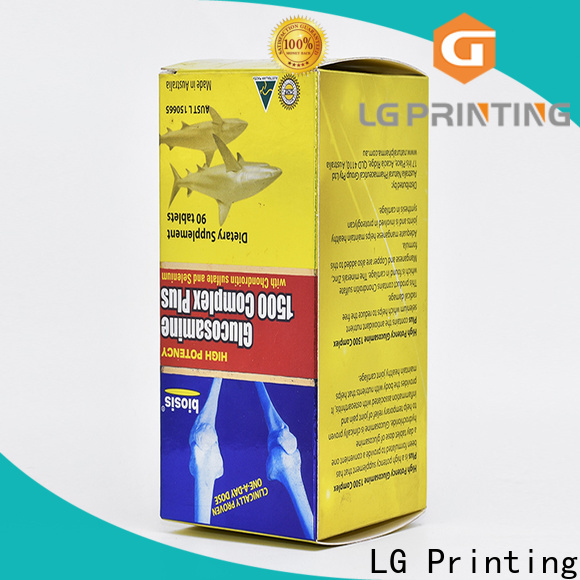 LG Printing custom made by labels for business