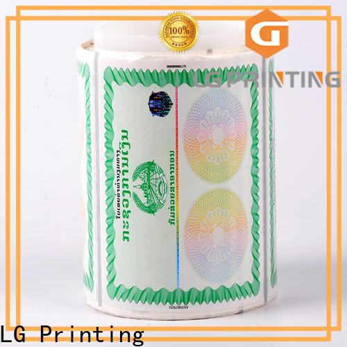 serial holographic foil 122 manufacturer for bag