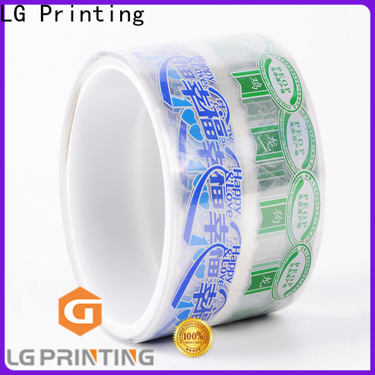 LG Printing silver water bottle label maker supplier for cans
