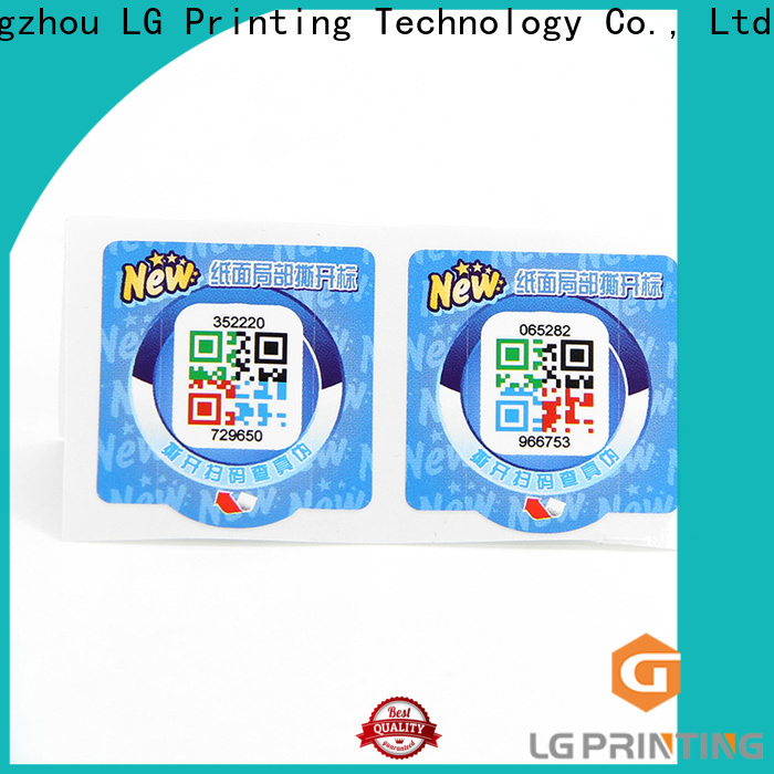 Latest waterproof sticker labels manufacturers for products