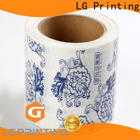 LG Printing pvc label applicator manufacturer for cans
