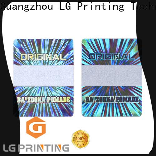 various hologram sticker printing golden supplier for refrigerator