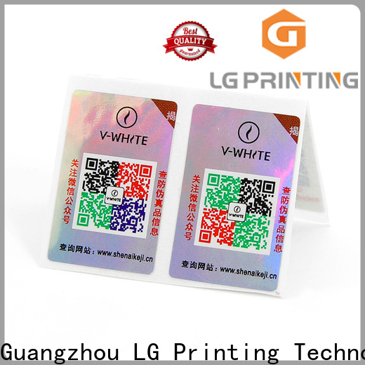 Best security hologram stickers manufacturers for products