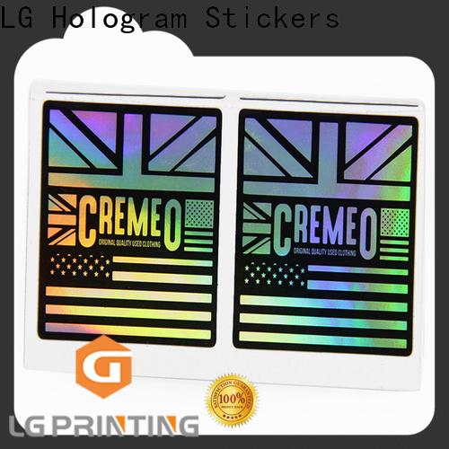 LG Printing holographic logos company