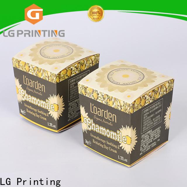 LG Printing Professional custom tea box packaging vendor