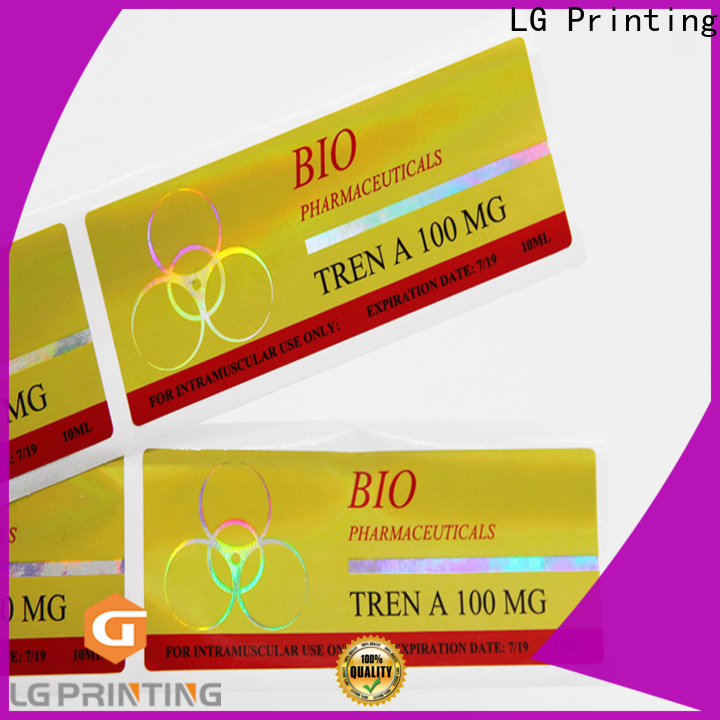 Custom holographic sticker sheet company