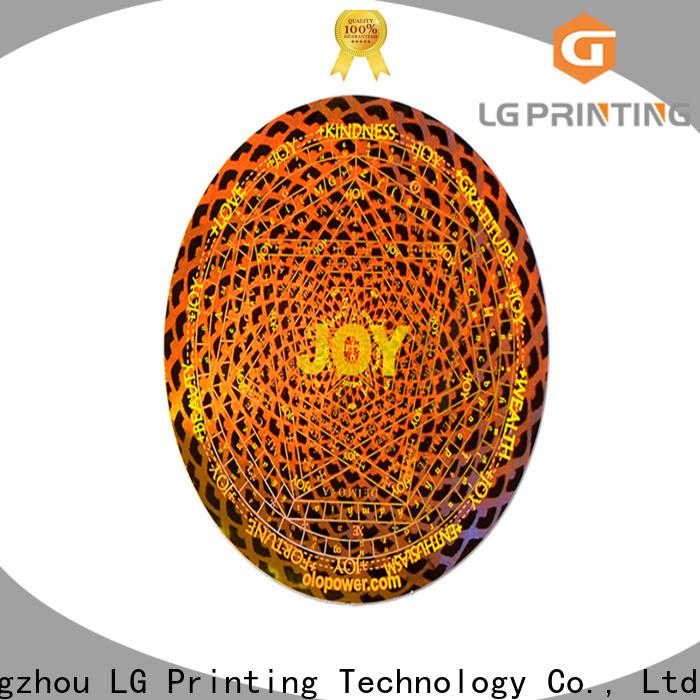 LG Printing Custom holographic shrink sleeves vendor for refrigerator