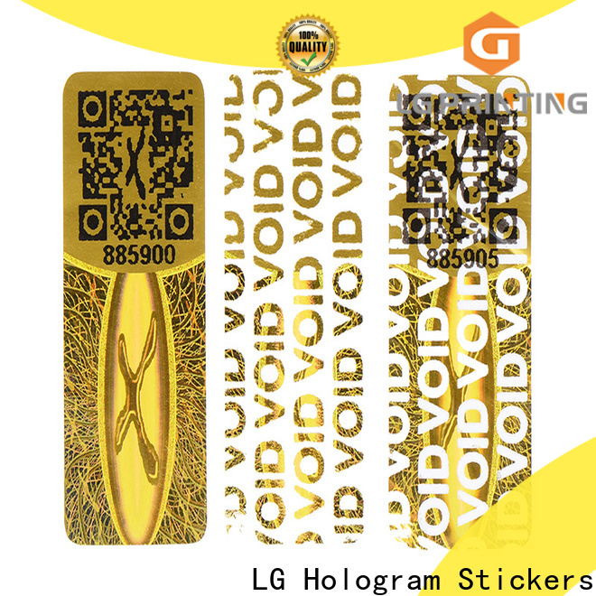 Custom hologram stickers online purchase scratch off factory for table