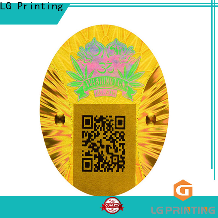 Top holographic vinyl stickers gold company for refrigerator