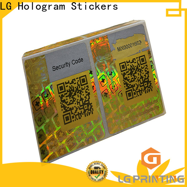 Best hologram serial number stickers numbering cost for table