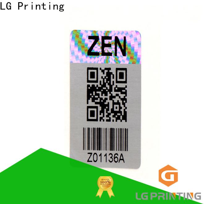 Top hologram sticker maker selfadhesive for table