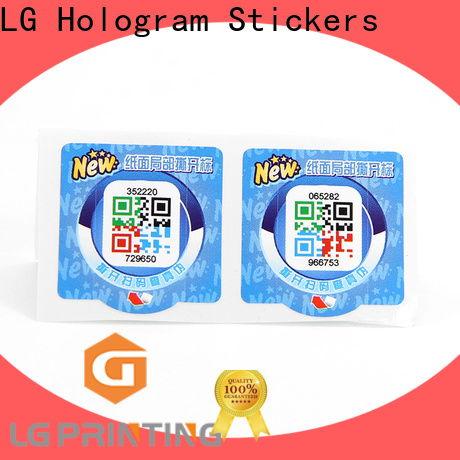LG Printing stickers label