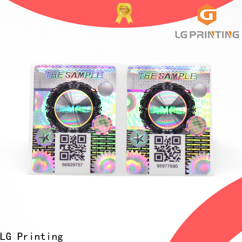 LG Printing sticker label paper vendor