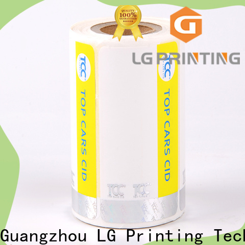 LG Printing Bulk holographic foil manufacturers for box