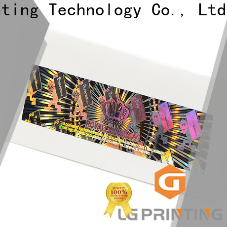 LG Printing High-quality holographic letter stickers vendor for electronics