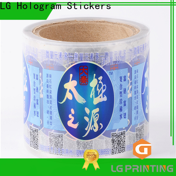 High-quality bulk label printing red manufacturers for cans