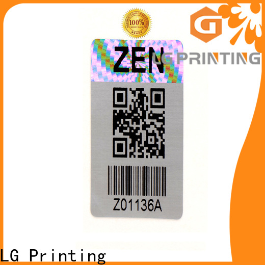 High-quality security labels stickers 3d supply for electronics