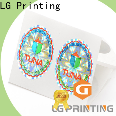 LG Printing Buy adhesive paper stickers factory price for skin care products